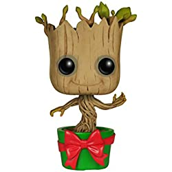 Marvel - Figura de vinilo Holiday Dancing Groot, colección Guardians of the Galaxy (Funko 6196)