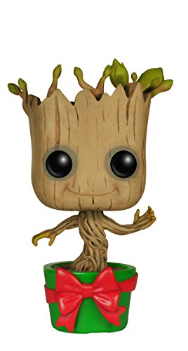 Funko - Figurina Guardians Of The Galaxy - Baby Groot Holiday Pop 10Cm - 0849803061968