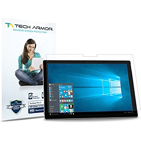 Tech Armor HD Clear Microsoft Surface Pro 4 (2015) Screen Protector [3-Pack]
