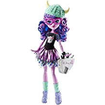 Monster High CJC62 - Bambola Erasmus da Paura Kjersti Trollsonn