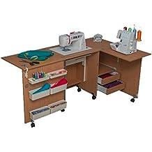 Comfort 5+ | Muebles para máquinas de coser y overlock | (Oak Sorano Natural