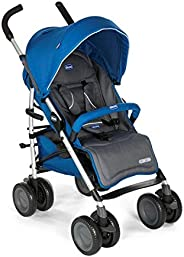 Chicco Multiway 2 Stroller for Newborn Babies and Toddlers, 0m+, Pram for Boys and Girls (Blue)