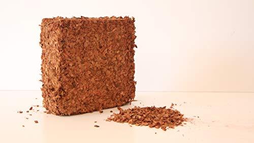 Pokugiardini, Kokos-Husk Chips, Mulch, Block/ca.5kg, leicht gepreßt (ergeben ca. 45 Liter)