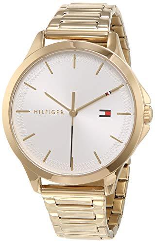 Tommy Hilfiger Reloj Analógico para Mujer de Cuarzo con Correa en Acero Inoxidable 1782086