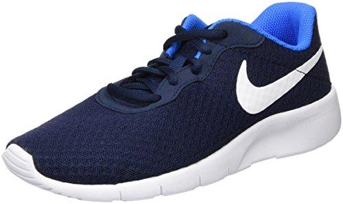 Nike Tanjun, Scarpe da Corsa Bambino Blu (Obsidian/White-Photo Blue)