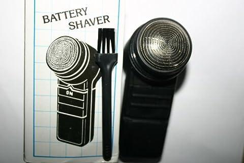 Unisexe pour rasoir électronique compact à piles de bonne qualité Idéal pour Voyage, voiture etc...