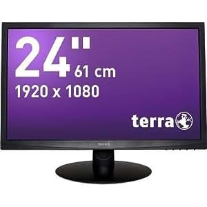 "Wortmann AG Terra 2412W Greenline Plus 24"" Full HD TN+Film Noir écran plat de PC - écrans plats de PC (61 cm (24""), 250 cd/m², 1920 x 1080 pixels, 5 ms, LCD, Full HD)"