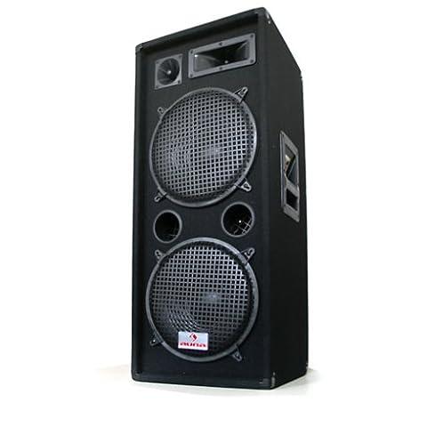 Malone PW-2222 Enceinte de sono professionnelle pour sonorisation d'evenements DJ