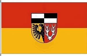 Bannerflagge Landkreis Wunsiedel iFichtelgebirge - 150 x 500cm - Flagge und Banner