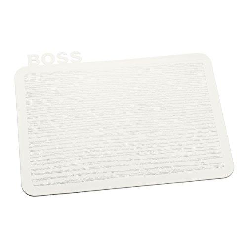 Koziol 3259525 Happy Boards Boss Planche à Découper Plastique Blanc 16,9 x 22,7 x 0,3 cm