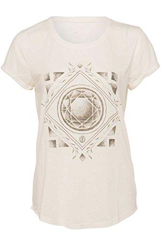 Element Diamond Floral T-Shirt Weiß