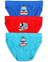 783f3b5a4a291f Boys Thomas & Friends - Briefs Pants Underpants Underwear Slips - 3 Pack -  Official Licenced