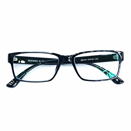 GO EYEWEAR Blueray Block Uv Protected Unisex Computer Glasses (W6131| Black)