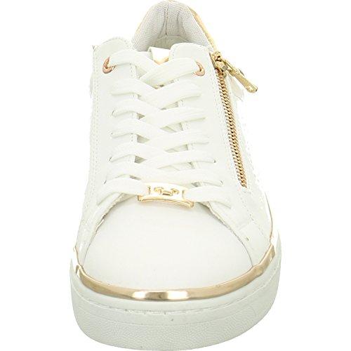 TOM TAILOR Damen 4892603 Sneaker Weiß (White)