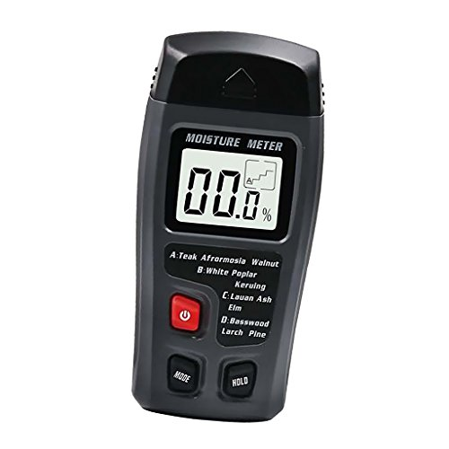 MagiDeal Digital Holz Feuchtigkeitsmesser,Holzfeuchte Messgerät,Holzfeuchte Tester Detektor Holzfeuchtigkeitsmessgerät