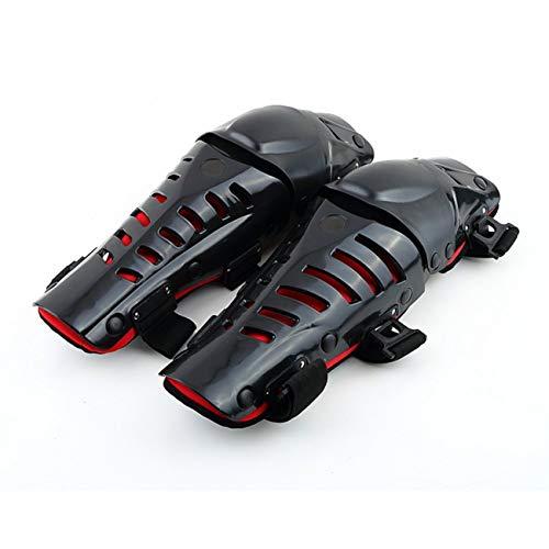 Fannty Ginocchiere per Moto, Ginocchiere per parastinchi mobiliPantaloni per Protezioni Ginocchia Regolabili Protezione per Motociclismo