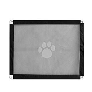 AUOKER Magic Gate, Pet Kid Safety Gate Portable Folding Barrier Install Anywhere - 80 * 100cm