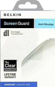 Belkin F8M266cw2 Film de protection pour Samsung Galaxy Ace Pack de 2