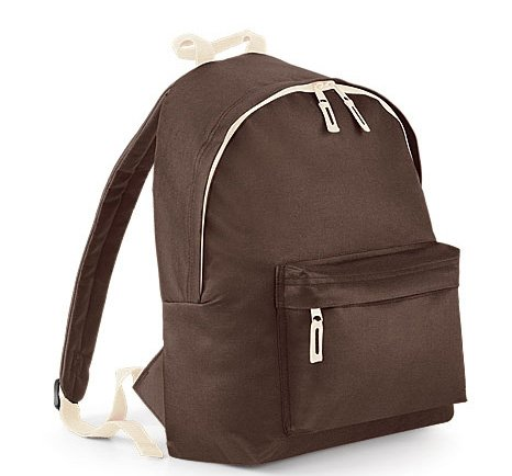 BagBase, Borsa a zainetto donna orange /Graphite Grau Brown