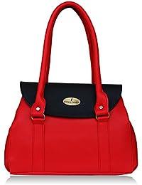 Fantosy Red And Black Women Shoulder Bag (FNB-715) (Red And Black)