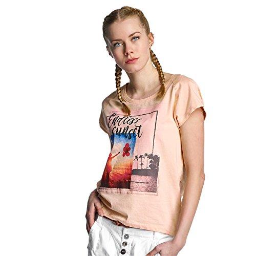Sublevel Femme Hauts / T-Shirt Endless Sunset Orange