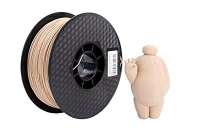 1758 3D Filament Net weight 1 kg 1.75mm wood PLA Filament from 1758