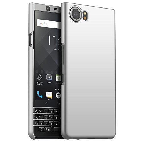 CiCiCat BlackBerry Keyone Hülle Handyhüllen, Hard PC Back Cover Case Schutz Hülle Tasche Schutzhülle Für BlackBerry Keyone. (BlackBerry Keyone 4.5'', Silber) -