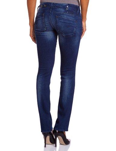 G-Star Raw Midge - Jeans - Droit - Femme Bleu (Dark Aged 5177)