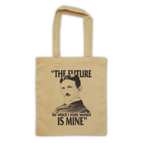 Nikola Tesla il futuro è Mine Borsa Natural