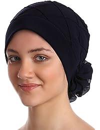 Diamant-Muster Mutze, Turban für Haarverlust, Krebs, Chemo