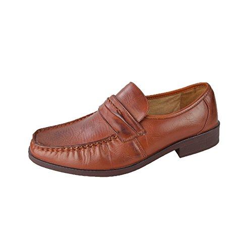 Herren-Schuhe Größe 6–11 braun - braun