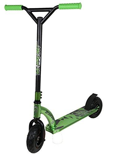 Two Bare Feet Dirt Scooter/Street Stunt Scooter 360Tricks, Kinder, grün - Roller 2-rad Razor