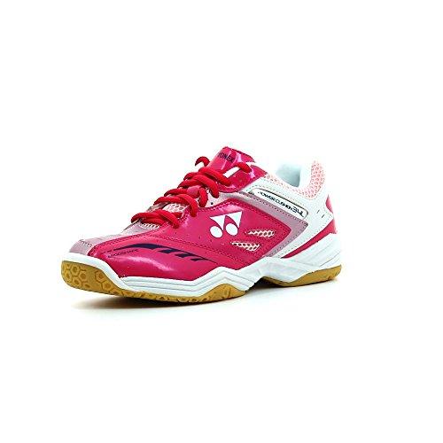 YONEX SHB 34lx Power Kissen Damen Badminton Court Squash Schuhe 2016 Rosa rose UK 6 / EU 38,5
