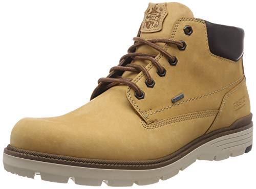FRETZ men Herren Cooper Chukka Boots, Gelb (Yellow 19), 44 EU Gore-tex-chukka