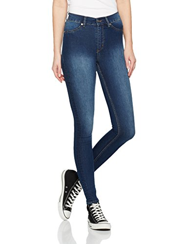 cheap-monday-high-spray-jeans-skinny-femme-blue-dim-blue-w28