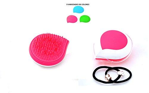 QUEGAR spazzola districante, spazzola per capelli lunghi, spazzola per capelli ragazze, 2 fasce per capelli REGALO.