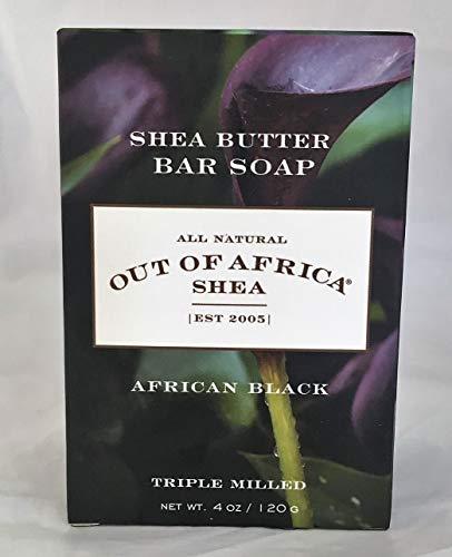 Pur Beurre de Karité Savon, dAfrique Noire, à 4 oz (113 g) - Out of Africa