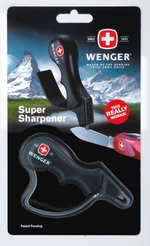 Wenger W6018000000 - Afilador Acampada Senderismo