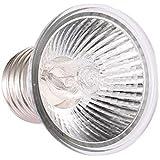 Decdeal 25W Halogène Chaleur Lampe UVA UVB Lampe De Réchauffement Ampoule De Chauffage pour Reptiles Lézard Tortue Aquarium