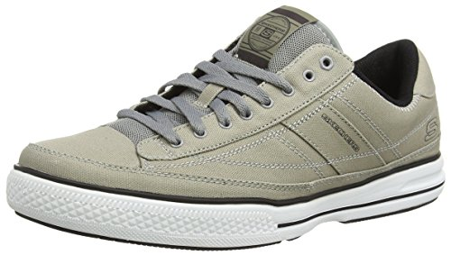 Skechers Arcade Chat MF, Men's Sneakers, Grey (Grey Grey), 8 UK (42...