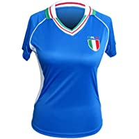 Maillot, Fan, Fan Maillot Manches Longues Italie, Italia, Italie Lady Taille 40, L
