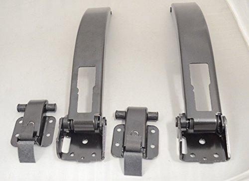 Preisvergleich Produktbild MERCEDES SPRINTER CRAFTER 06- SET 4 X HINTER TÜRFESTSTELLER TÜRSTOPPER ORIGINAL