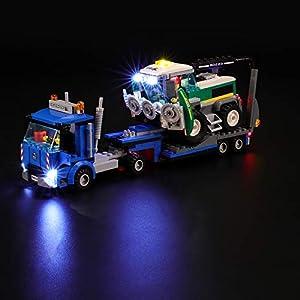 BRIKSMAX Kit di Illuminazione a LED per Lego City Trasportatore di mietitrebbia, Compatibile con Il Modello Lego 60223… LEGO City LEGO