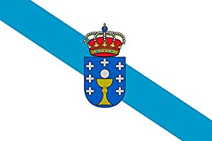 magFlags Flagge: Large+ Galicia   Querformat Fahne   1.5m²   100x150cm » Fahne 100% Made in Germany