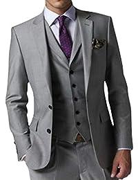 GEORGE Herren trajes de etiqueta smoking del juego de la chaqueta de los trajes de 3 piezas chaqueta de traje conjunto, pantalones de vestir, chaleco 154