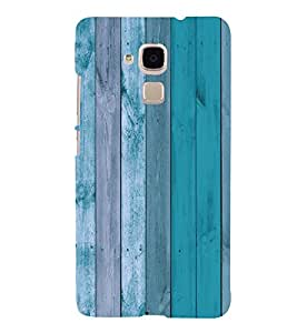 Wooden Background design 3D Hard Polycarbonate Designer Back Case Cover for Huawei Honor 5C : Huawei Honor 7 Lite : Huawei GT3