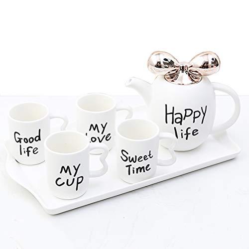 Conjunto de té de agua fría de cerámica Europea set de...