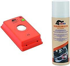 MarderFix - Akustik Batterie Inklusive Vorreiniger - Marderabwehr im Auto, Haus und Hof