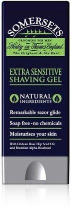 Somersets Shaving Gel Sensitive 200ml