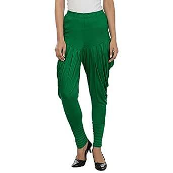 Legis Women's Viscose Dhoti Pant Green